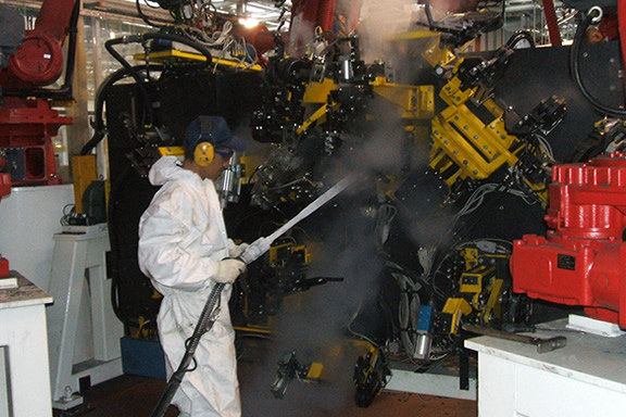 industrial Cryogenic cleaning