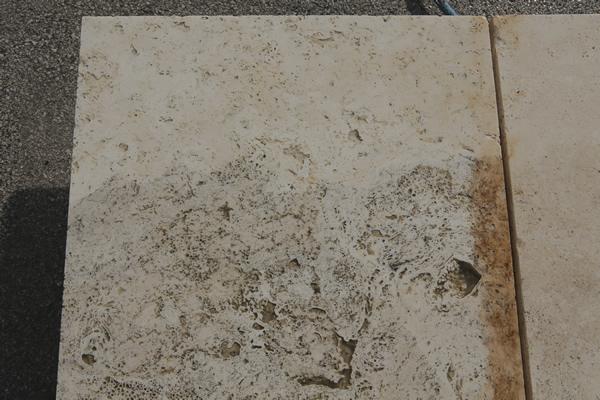 pulizia di marmo e pietra con acqua ad alta pressione